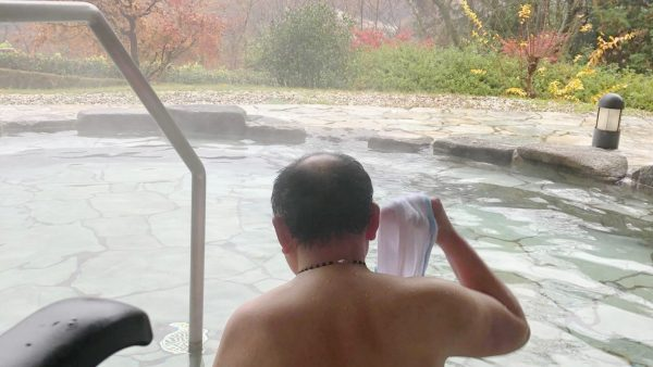 温泉にもう一度浸かりたい。