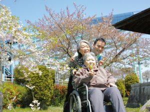 平田公園でお花見