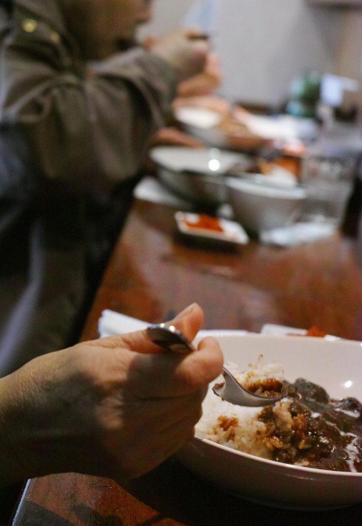 ラ・リーモで食べるカレー