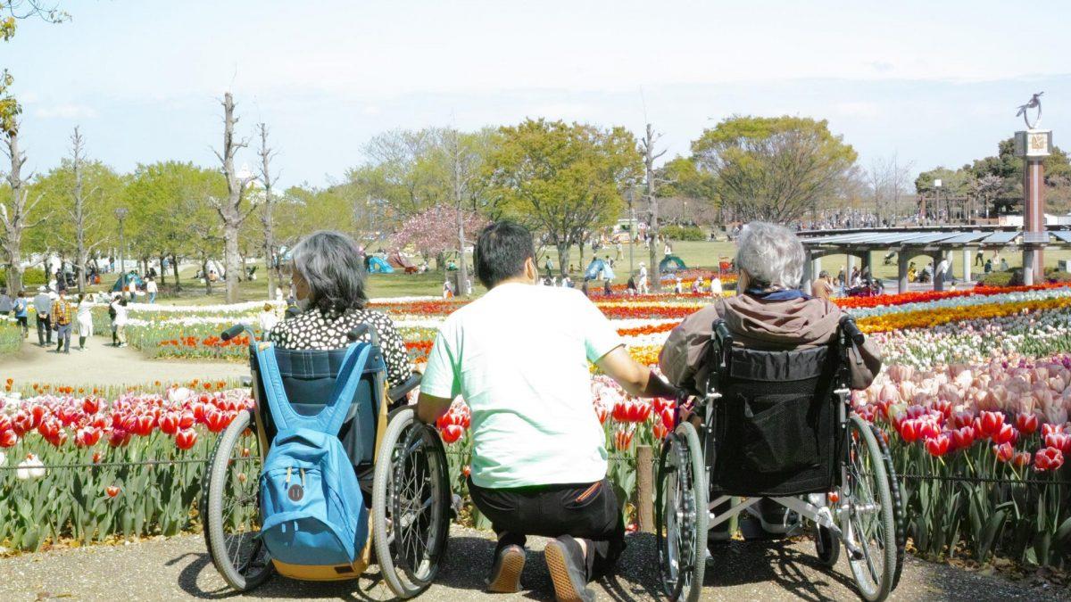 木曽三川公園でチューリップを堪能
