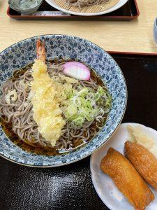 お蕎麦&いなり寿司@ゑびすや